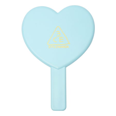LOVE 3CE HEART HAND MIRROR