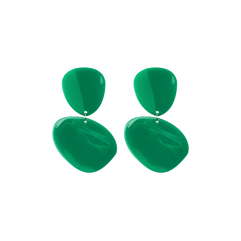 lively retro drop earring