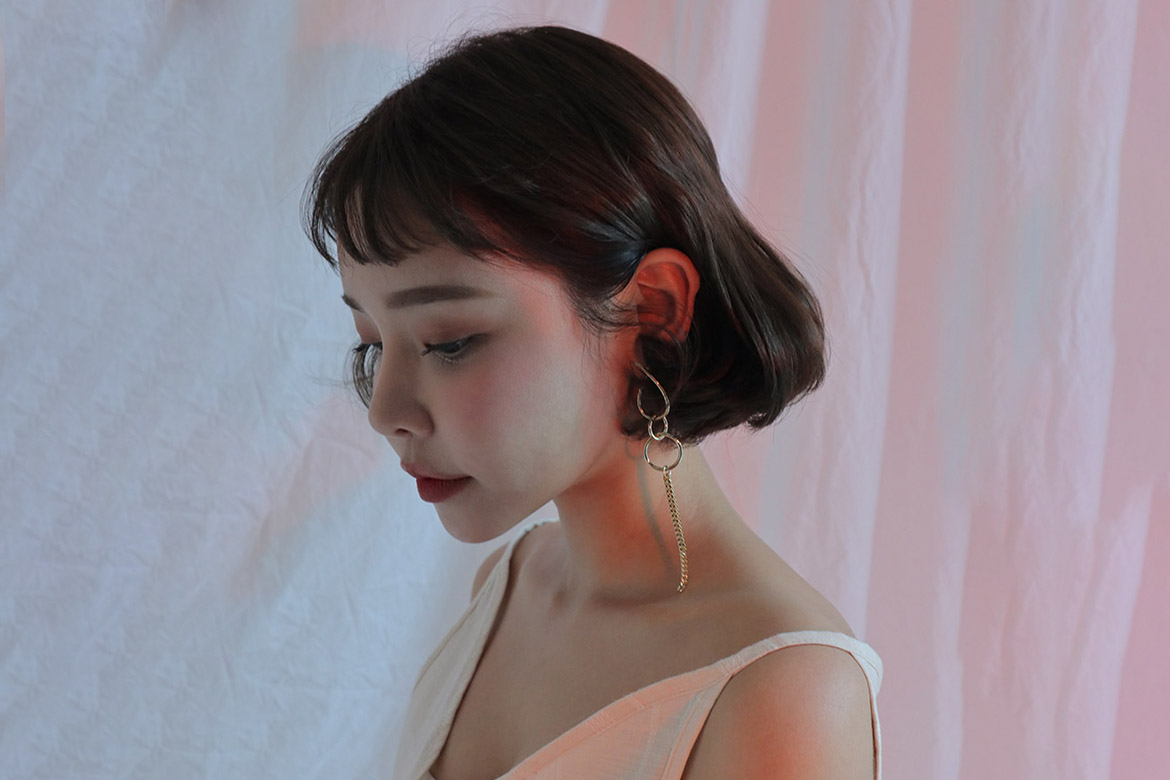 Cleo Unbalance drop Earring