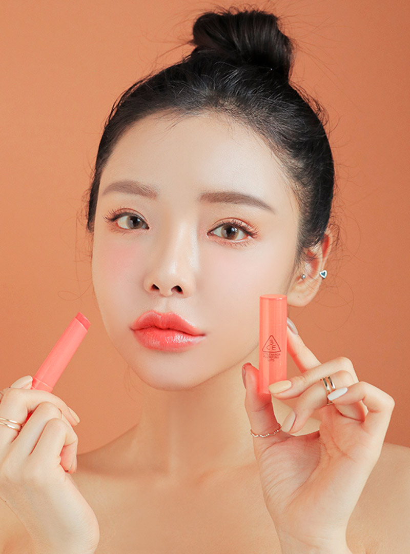 3CE PLUMPING LIPS #CORAL