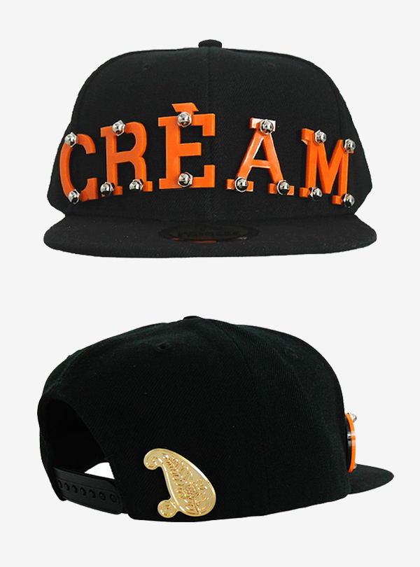 10-2 CREAM BLACK ORANGE